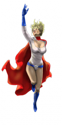 Power Girl from Chris Maffeo