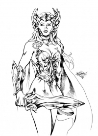 She-Ra from Matías Soto López