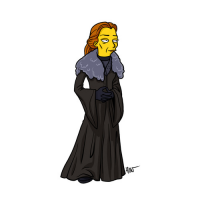 Catelyn Stark/The Simpsons from Adrien Noterdaem