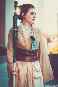 Courtoon as Rey