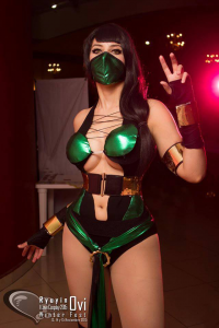 Lucy Langley Cosplay as Jade