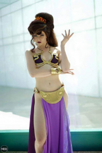 Maid Of Might Cosplay as Megara/Slave