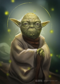 Yoda from Glorya Art