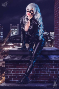 Ashe Iverk as Black Cat