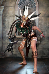 Tasha Cosplay as Witch Doctor