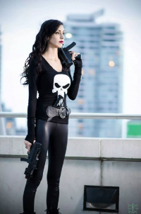 Allure Cosplay as Punisher