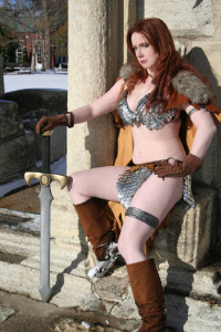Désirée Cosplay as Red Sonja