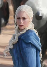 Daenerys Targaryen from Alexandra James