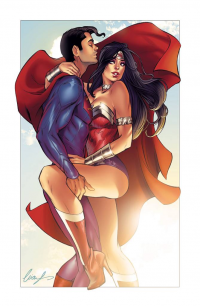 Superman, Wonder Woman from Elias Chatzoudis