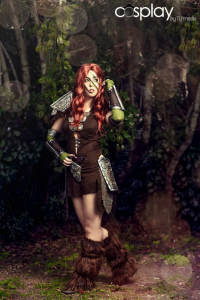 Monika Lee as Aela the Huntress
