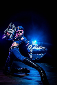 Unknown Female Artist as Vi/Officer