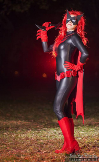 Maria Morticia as Batwoman