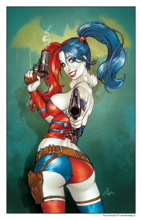 Harley Quinn from Elias Chatzoudis