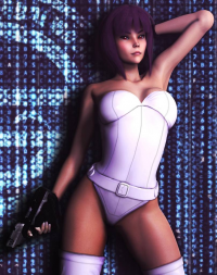 Motoko Kusanagi from Rasmus-The-Owl