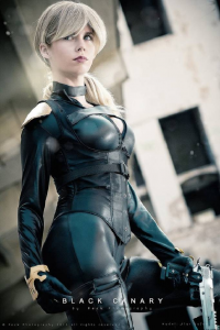 Florencia Jillian Sofen as Black Canary