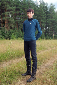 Inar-of-shilmista as Spock