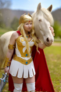 Santana Cosplay as She-Ra
