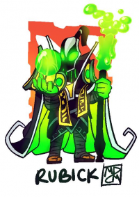 Rubick from Tryintodraw