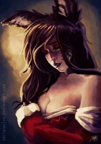 Ahri from Adrian Llobell