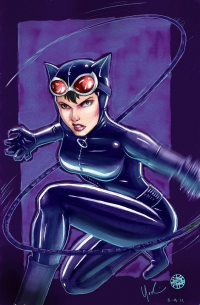 Catwoman from Lynne Yoshii