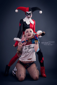 Sajalyn as Harley Quinn, Blossom Of Faelivrin as unknown character