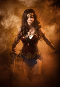 Tine Marie Riis as Wonder Woman