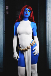 Juby Headshot as Mystique