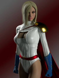 Power Girl from 500 Internal Server Error