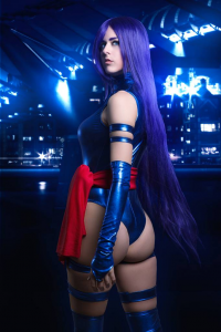 Juby Headshot as Psylocke