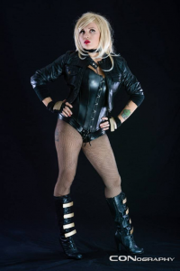 Lena Leather as Black Canary
