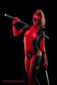 Shelle-chii as Deadpool