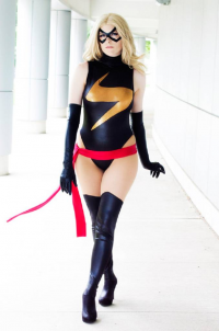 Lossien as Ms. Marvel