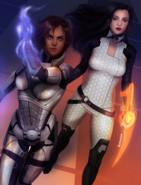 Jane Shepard, Miranda Lawson from Unknown Artist