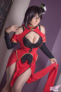 Dalin Cosplay as Litchi Faye-Ling