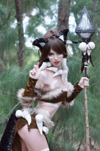 Megan Coffey as Nidalee