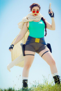 EMC Cosplay as Lara Croft