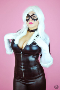 Blue Destiny as Black Cat
