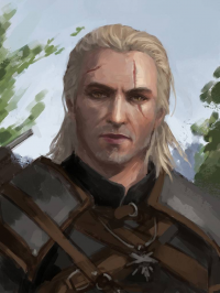 Geralt of Rivia from Penthesilence