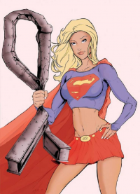 Supergirl from Andrew Black
