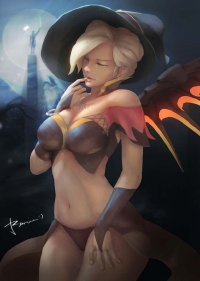 Mercy/Witch from Yagitka