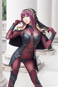 御貓 as Scathach