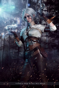 Florencia Jillian Sofen as Ciri