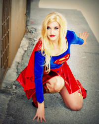 Leah Burroughs as Supergirl
