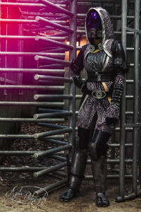 Duo Queue Cosplay as Tali'Zorah nar Rayya