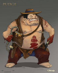 Pudge from The-oio