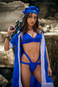 Sassmira Cosplay as Ana Amari