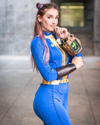 Helloiamkate as Vault Dweller