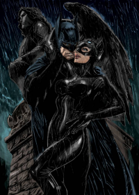 Catwoman, Batman from archaeopteryx14