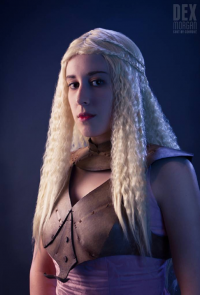 Dex Morgan as Daenerys Targaryen