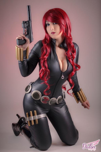 Dalin Cosplay as Black Widow